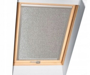 Roleta metalizowana do okna Skylight Premium66x140